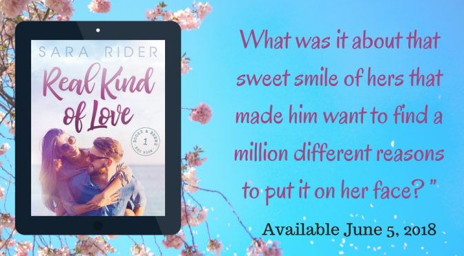 Review and Excerpt Tour for REAL KIND OF LOVE by Sara Rider!