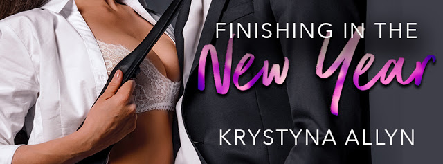 COVER REVEAL!!! ~ Finishing In The New Year by Krystyna Allyn