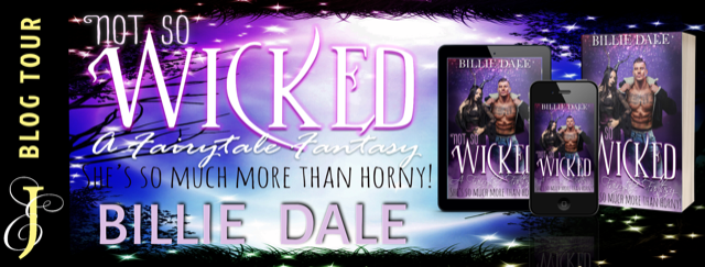 BOOK & EXCERPT TOUR!!! ~ Not So Wicked by Billie Dale